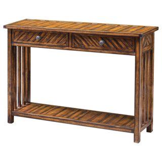 Bartek Wood Console Table
