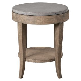 Link to Deka Round Accent Table Similar Items in Living Room Furniture