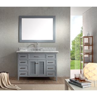Kensington 49-inch Single Sink Vanity Set in Grey