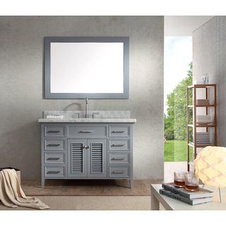 Kensington 49-inch Single Sink Vanity Set in Grey