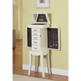 Eiffel Tower 5 Drawer Jewelry Armoire