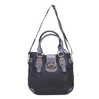 J. Furmani Contrast Tote Handbag