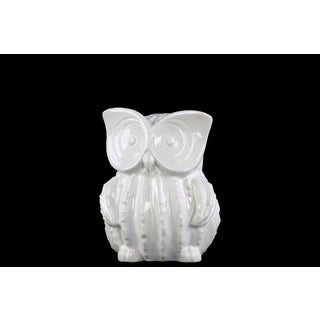 Urban Trends Standing Owl Ceramic Small Figurine