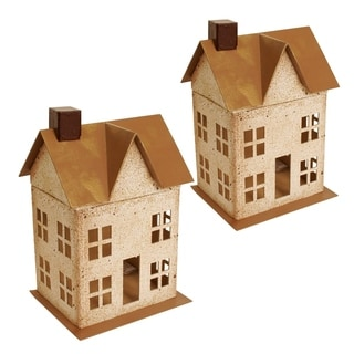 Wald Imports Paperboard House - Set of 2
