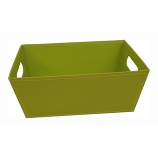 Wald Imports Paperboard Tray - Set of 4, 10 in, Lime Green