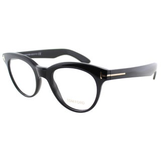 Tom Ford Women's Black Plastic Cat Eye Eyeglasses