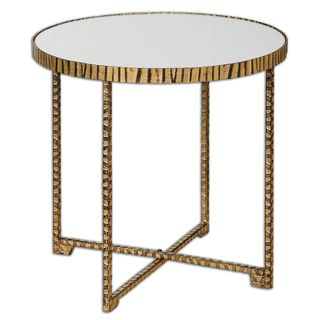 Myeshia Round Accent Table