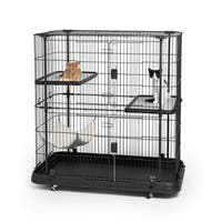 Prevue Pet Products Deluxe 3 Level Cat Home