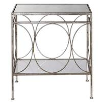 Luano Silver End Table