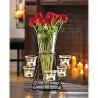 Round Candle Centerpiece and Flower Holder