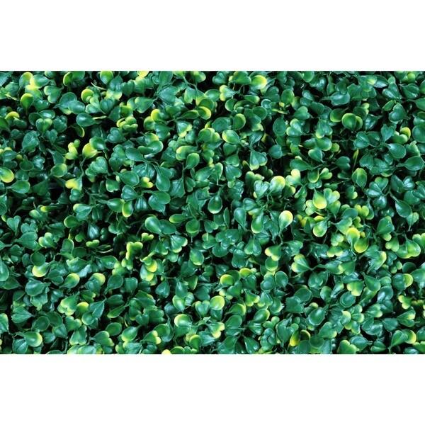 Greensmart Decor Ficus Gold Artificial Foliage Panels (Set of 4)