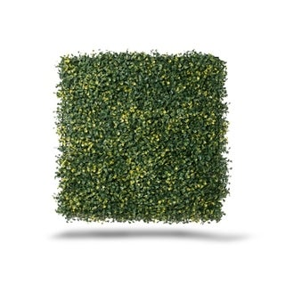 Greensmart Decor Ficus Gold Artificial Foliage Panels (Set of 4)