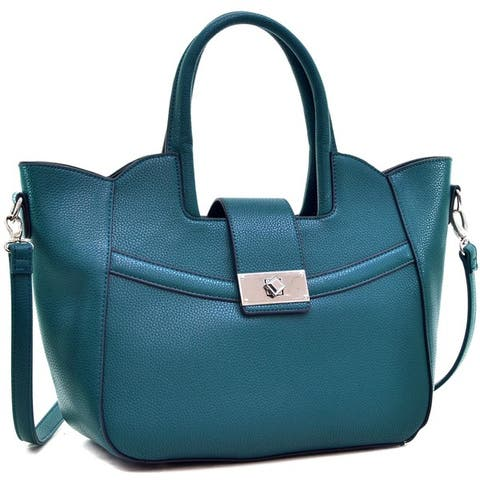 Dasein Fold-Over Winged Satchel With Shoulder Strap by  #2