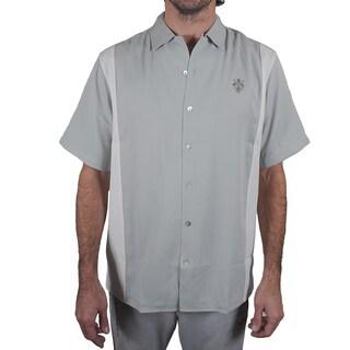 Da Vinci Men's Lion's Den Button Down Classic Shirt