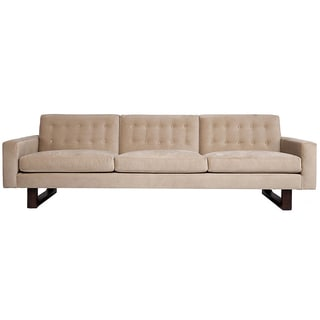 Jaxon marley blush tufted sofa reviews deals prices for Canape oxford honey leather sofa