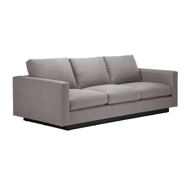 Jaxon Christopher Grey Upholstered Sofa Free Shipping
