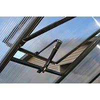Monticello Black Automatic Roof Vent Kit