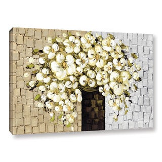 ArtWall Susanna Shaposhnikova's White Bouquet 2, Gallery Wrapped Canvas