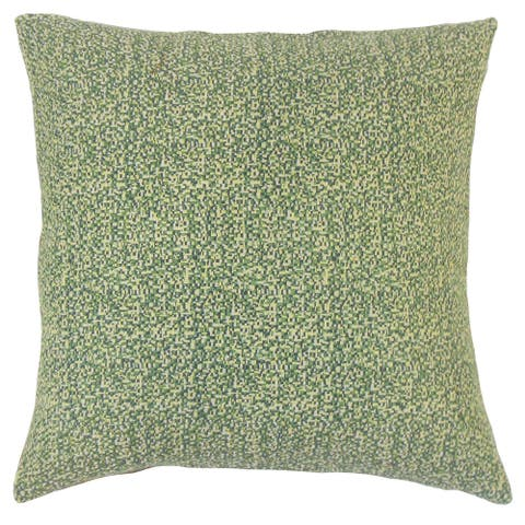 Grisel Woven Feather and Down Filled 18-inch Throw Pillow