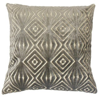 Oresthes Solid Feather and Down Filled 18-inch Throw Pillow