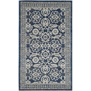 Safavieh Evoke Vintage Royal Blue/ Ivory Distressed Rug (3' x 5')