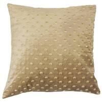 Umatilla Solid Feather and Down Filled 18-inch Throw Pillow