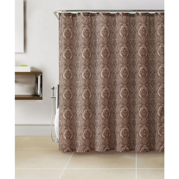 Shop VCNY Anika 13 Piece Paisley Print Shower Curtain Set