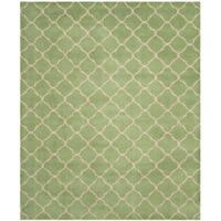 Safavieh Handmade Moroccan Green Wool Rug - 8' x 10'
