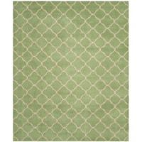 "Safavieh Handmade Chatham Green Wool Rug - 8'9"" x 12'"
