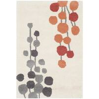 Safavieh Hand-Tufted Soho Beige/ Orange Wool/ Viscose Rug - 2' x 3'