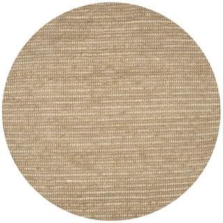 Safavieh Hand-knotted Bohemian Beige/ Multi Hemp Rug (10' Round)