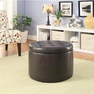 Designs4Comfort Round Shoe Ottoman