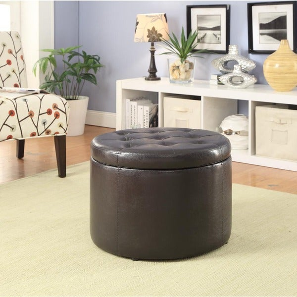 round shoe ottoman free shipping today