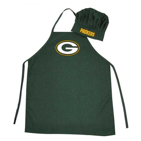 NFL Sports Team Logo Apron and Chef Hat