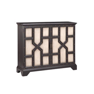 Wood leather cabinet 32 inches wide x 31 inches high x 16 for Coffee tables 16 inches high