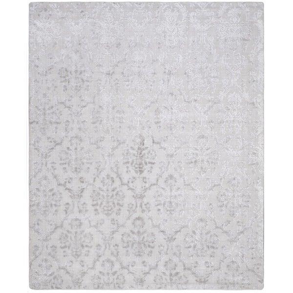 Safavieh Handmade Mirage Modern Glam Silver Viscose Rug (8' x 10')