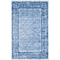 Safavieh Adirondack Vintage Silver/ Blue Rug - 2'6 x 4'