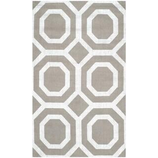Safavieh Handmade Cedar Brook Grey/ Silver Jute Rug (2'3 x 3'9) - 2'3 x 3'9