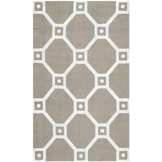 Safavieh Handmade Cedar Brook Grey/ Silver Jute Rug (2'3 x 3'9)