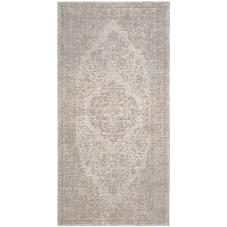 Safavieh Classic Vintage Beige Cotton Distressed Rug (2'4 x 4'8)