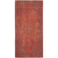 Safavieh Classic Vintage Overdyed Red Cotton Distressed Rug - 2'4 x 4'8