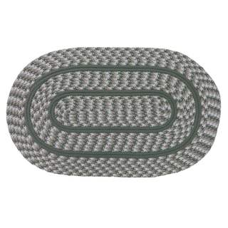 Cottage Braided Rug by Better Trends (2' x 4')