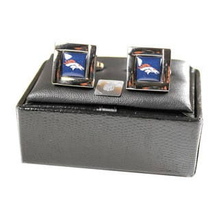NFL Square Logo Cufflinks Gift Box Set