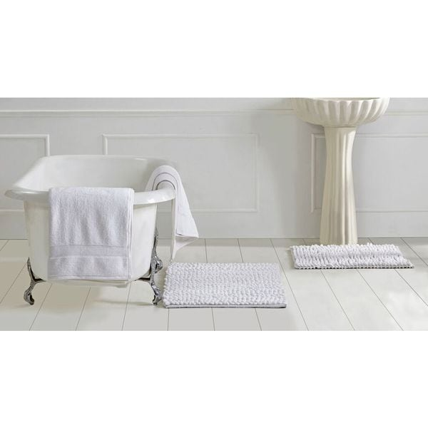 Shop Micro Loop 3-piece Towel And Bath Rug Set By Better