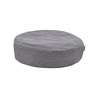 Couple's Retreat Grey Bean Bag Chair