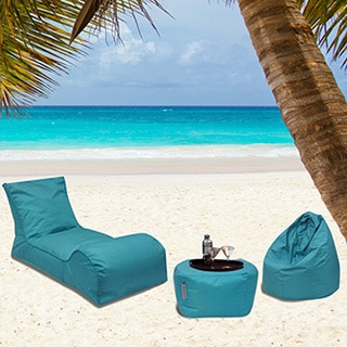Summer Days 3-piece Bean Bag Patio Set