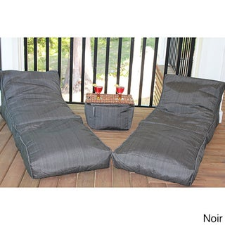Outdoor Bean Bag Lounger Set (4 options available)