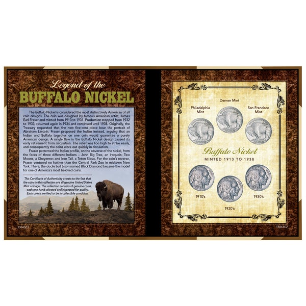 American Coin Treasures Legend of the Buffalo Nickel