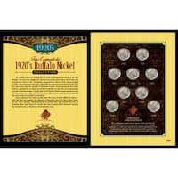 American Coin Treasures Complete 1920's Buffalo Nickel Collection