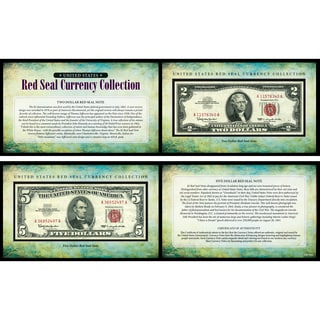 American Coin Treasures U.S. Red Seal Note Currency Collection